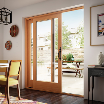 milgard essence series wood french door