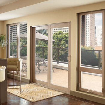 standard for vinyl patio doors