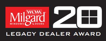 Milgard Legacy Dealer Award